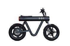 SOL Pocket Rocket - the urban commuter vehicle Scooter Motorcycle, Electric Scooter, Electric Motorcycle For Sale, Design Blog, Mini Bike, Bicycle Design, Machine Design, Design Awards, Motor Car