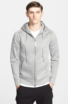 Helmut+Lang+Full+Zip+Hoodie+available+at+#Nordstrom