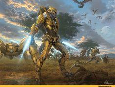 Zealot,Starcraft Units,Starcraft,Старкрафт,Blizzard,Blizzard Entertainment,фэндомы,Dragoon,Zergling,Mutalisk,Zerg,Зерги,Starcraft расы,Protoss,Протоссы,Starcraft 2,Starcraft Art,void032art