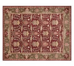 Franklin Persian-Style Rug #potterybarn