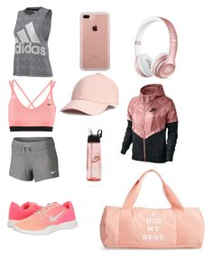"""""""Untitled #39"""" by nadiasamawi2004 ❤ liked on Polyvore featuring adidas, ban.do, NIKE, Belkin and Beats by Dr. Dre"""