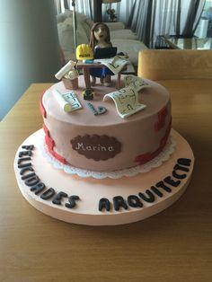 Torta graduación de arquitectura Architecture Cake, Skylanders, Grad Parties, Dessert Table, Party Themes, Party Ideas, Party Planning, Sweet Tooth, Graduation