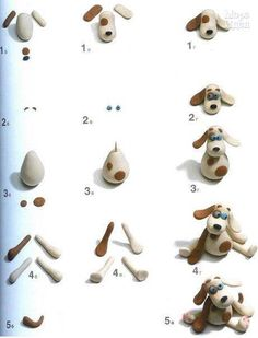 DIY Fimo Hund Dog