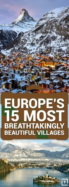 Europe's 15 Most Breathtakingly Beautiful Villages URL : http://amzn.to/2nuvkL8 Discount Code : DNZ5275C