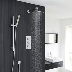Revamp your bathroom with this modern shower kit