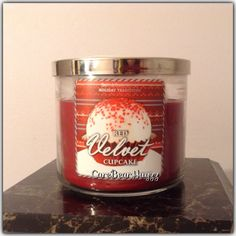 Bath and Body Works Red Velvet Cupcake from the Holiday Traditions collection for winter 2013