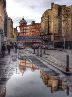 Glasgow, Scotland, where I was born, would love to go back and see some castles.