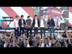 I'm screaming! (literally!) one direction on ellen