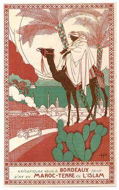 Reprint of a Vintage Travel Poster to The Sudan, Africa Retro Poster, Vintage Travel Posters, Vintage Advertisements, Vintage Ads, Tourism Poster, Photo Vintage, Luggage Labels, Animal Faces, Grafik Design