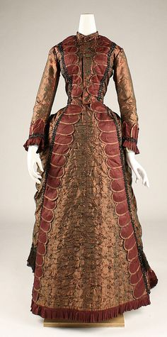 Dress, 1877, at the Met