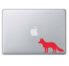 Fox - custom, vinyl, outdoor vinyl, car decal, computer decal, permanent, firefox, red fox, sly, sneaky, foxy, forest animal by WizardatNight on Etsy