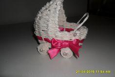Pletenie z papiera: dekorácia na tortu