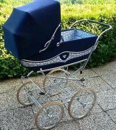 Vintage Pram, Baby Carriage, Prams, Wheelbarrow, Kids And Parenting, Baby Strollers, Retro, Children, Baby Cars