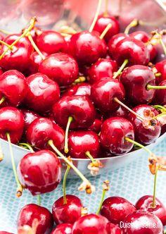 Des cerises, j'en raffole!!! Une petite gelée de cerises ? http://cuisine-saine.fr/recette-bio/gelee-de-cerises