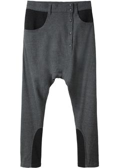 soft flowing jersey pants