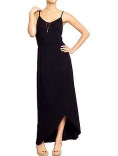 Womens Tulip-Hem Maxi Dresses