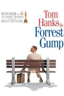 (1994) ~ Tom Hanks, Robin Wright, Gary Sinise. Director: Robert Zemeckis. IMDB: 8.7 _________________________ http://en.wikipedia.org/wiki/Forrest_Gump http://www.rottentomatoes.com/m/forrest_gump/ http://www.metacritic.com/movie/forrest-gump http://www.tcm.com/tcmdb/title/75434/Forrest-Gump/ Article: http://www.tcm.com/tcmdb/title/75434/Forrest-Gump/articles.html http://www.allmovie.com/movie/forrest-gump-v131221