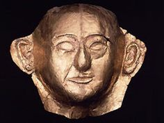 Mummymask of Chaemwêse, favorite son of Ramses II.