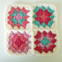 forty percent fringe : sixty percent face: how to join granny squares