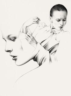 Ricardo Fumanal #illustration #art #fashion