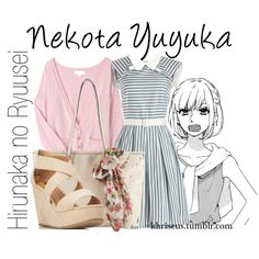 A fashion look from January 2015 featuring Myrtlewood dresses, Forever 21 sandals and Call it SPRING tote bags. Browse and shop related looks. Anime Inspired Outfits, Anime Outfits, Cute Outfits, Cute Fashion, Girl Fashion, Fashion Looks, Manga Clothes, Fandom Fashion, Casual Cosplay