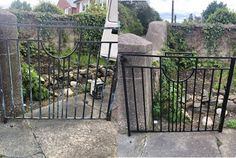 Recent Work - Painting & Decorating - Entrance Gates