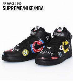 Nike Snkrs, Air Force 1 Mid, Nike Air Force Ones, Shoe Game, Women Empowerment, Supreme, Fashion News, Nba, Street Wear