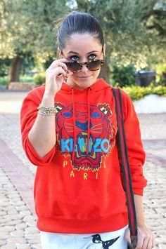Kenzo sweater & Epos #sunglasses by Annalisa Masella #fashion