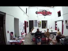 ContraLuz Art Hostel- entrevista