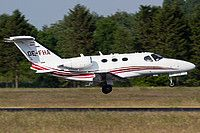 OE-FHA Private Cessna 510 Citation Mustang