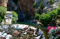 Relax and enjoy the clear waters and nature in Blagaj. Read more on our website: www.tourguidemostar.com #travel #blagaj #buna #mostar #waterfalls #herzegovina #TGM #TourGuideMostar #bosniaandherzegovina #landscape #travelworld