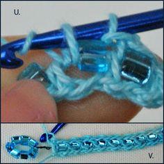 Easy Beaded Crochet Technique