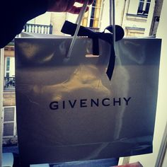 Givenchy shopping in Paris!