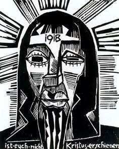 Cave to Canvas, Karl Schmidt-Rottluff, Has Christ Not Appeared to you? 1918