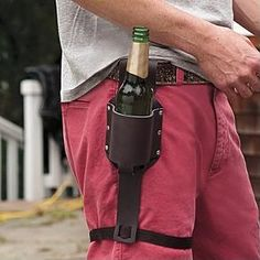 personalizable beer holster - happy birthday dad