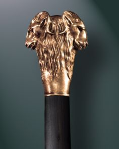 Ram Head Walking Stick Two heads are better then one!!!