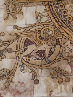 Winged Lion, Worcester Cathedral by Aidan McRae Thomson, via Flickr