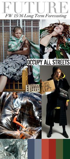 Trend Council:  FUTURE  - FW15/16 Long Term Forecasting, Occupy All Street