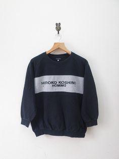 Vintage Hiroko Koshino Homme Sweatshirt by RetroFlexClothing