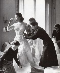 alwaysbevintage: Actress Linda Christian as a bride before her wedding with Tyrone Power, Rome, Italy, 1949