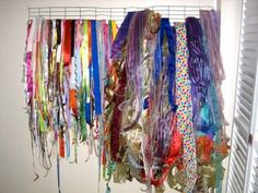 How to Make a Ribbon Storage Device