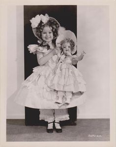 1935 Shirley Temple & Shirley Temple Doll as The Little Colonel: