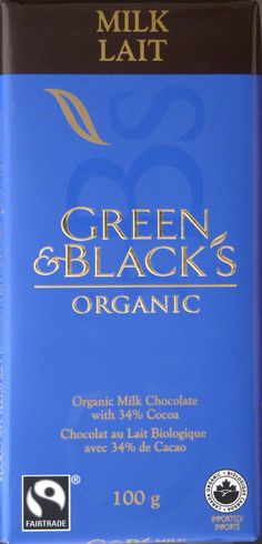 Green and Black's Organic Milk Chocolate