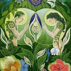 Born out of Nature by Edward Foster / Sacred GeometryYou can find Visionary art and more on our website.Born out of Nature by Edward Foster / Sacred Geometry Tree Drawings Pencil, Art Drawings, Arte Inspo, Art Visionnaire, Birth Art, Pregnancy Art, Pregnancy Timeline, Pregnancy Quotes, Early Pregnancy