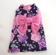 PrettyBouquetバラ柄浴衣<紫>【S】864 Yen