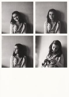 Anne Frank (June 12, 1929 - March 31, 1945) German (diary)writer (she hid from the Nazi's in her home in Amsterdam and held a diary about the time when was she hidden from the Nazi's).