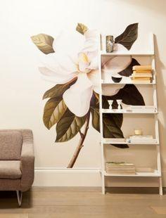 18 Kreative Ideen Für Wandgestaltung Im Wohnzimmer Mit Blumenmotiven  #blumenmotiven #ideen #kreative #