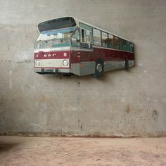 street art by Ron van der Ende. 3d Street Art, Street Art Graffiti, Street Artists, Delft, Sidewalk Art, 3d Artwork, Chalk Art, Public Art, Urban Art