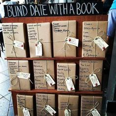 More blind dates with books! Book Cafe, Book Club Books, Book Nerd, The Book, Book Store Cafe, Books And Tea, I Love Books, Books To Read, My Books