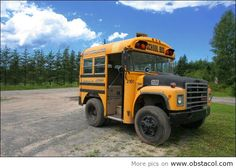 These 24 used school bus conversions will amaze and even inspire to do your own used school bus conversion. Enjoy all of these awesome conversions here. Cool Trucks, Big Trucks, Cool Cars, Semi Trucks, Pickup Trucks, Custom Trucks, Custom Cars, Used School Bus, School Buses